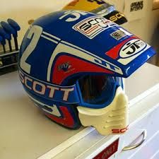 JT Helmet And SCOTT Visor Mask