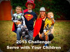 2013 Challenge-Serve with Your Children via Pennies of Time