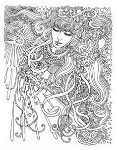 Dreamer coloring page