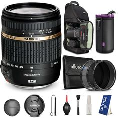 Tamron Auto Focus 18-270mm f/3.5-6.3 VC PZD Zoom Lens for NIKON DSLR Cameras + BACKPACK & FREE ACCESSORIES