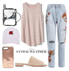 """""""Wisdom Gold"""" by sweet-jolly-looks ❤ liked on Polyvore featuring Gap, Mansur Gavriel, Armitage Avenue and Rebecca Minkoff"""
