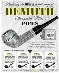 Demuth Pipes
