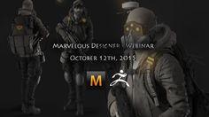 Marvelous Designer - Webinar. Oct 12th 2015