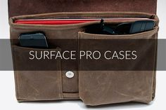 Surface Pro Cases from WaterField Designs | http://www.sfbags.com/collections/sleeves-cases-for-surface-pro-3