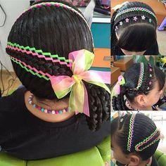 Easy Hairstyles, Girl Hairstyles, Blunt Hair, Baby Girl Hair, Hair Creations, Toddler Hair, Shoulder Length Hair, Hair Designs, Braids