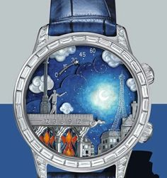 To know more about Van Cleef & Arpels Midnight Poetic Wish Watch, visit Sumally, a social network that gathers together all the wanted things in the world! Featuring over 233 other Van Cleef & Arpels items too! Amazing Watches, Beautiful Watches, Cool Watches, Watches For Men, Fancy Watches, Unusual Watches, Dream Watches, Stylish Watches, Men's Watches