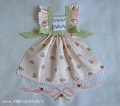 Pinafore Dress by pipersquilts, via Flickr