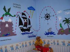 Decora un cuarto infantil con vinilos | Aprender manualidades es facilisimo.com