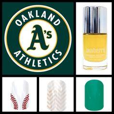 Oakland A's Jamberry Nail Wraps, Barware, Cool Stuff, Tumbler