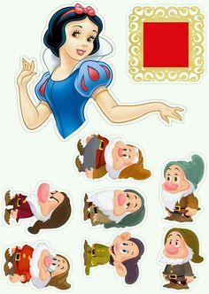 Disney Princess Snow White, Snow White Disney, Disney Princess Birthday, Cinderella Birthday, Princess Party, Superman Birthday Party, 1st Birthday Girls, Snow White Characters, Disney Frames
