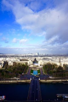 Eiffel Tower view, Paris, France