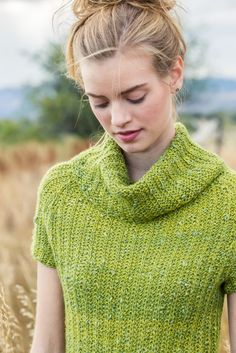 """Knitwear designer Andrea Rangel has recently published her first book with Interweave, Rugged Knits. We're thrilled to have two of The Fibre Co. yarns, Road to China Light and Terra, featured in the book, one of which is on the cover! From the Introduction: """"I want my knitwear to work with all my pursuits, so I'm drawn to knitting functionally for an active lifestyle--think hiking, cycling and camping."""" Hazy Cloud is knit in Road to China Light, and embodies this idea perfectly. A ..."""