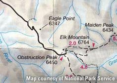 Navigation basics: map and compass
