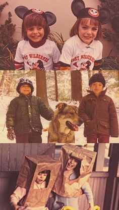 Jared and Shannon as kids