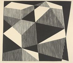 Josef Albers (American (born Germany), Bottrop 1888–1976 New Haven, Connecticut) Date: 1933 Medium: Woodcut