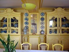 I have always loved the colour in Monet's kitchen