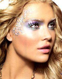"""mermaid makeup for the Train cooncert this summer...""""mermaids of alcatraz tour"""""""