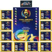 2016 Panini Copa America Centenario SPECIAL COLLECTORS PACKAGE with 80 Brand New Stickers 64 Page Collectors Album & Bonus LIONEL MESSI Card Pack! Collect Stickers of the World's Biggest Soccer Stars!