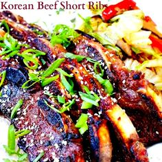 If you've never made Korean Beef Short Ribs, the time has come!! Learn how in this video: http://www.ifood.tv/recipe/kalbi-korean-beef-short-ribs
