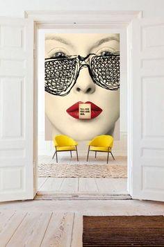 Pop art design interior sofas Ideas for 2019 Interior Design Minimalist, Decor Interior Design, Interior Decorating, Interior Office, Decorating Games, Decorating Websites, Kitchen Interior, Kitchen Decor, Arte Pop