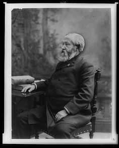 Benjamin Harrison, 23rd President of the United States (1889-1893). Photo by George Prince, 1888.  Library of Congress Prints and Photographs Division.