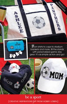 From shirts to caps to stadium blankets and more, fill the stands with personalized game day gear. It's as simple as iron and go!