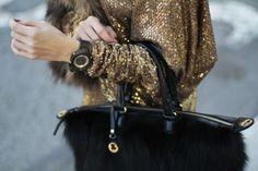 gold fur