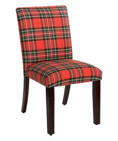 Loving this Ancient Stewart Red Uptown Dining Chair on #zulily! #zulilyfinds