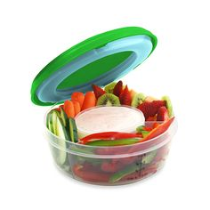 Food container not only makes it easy to bring food on the go, but it also keeps your meals chilled and fresh.