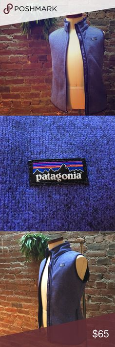 Patagonia better sweater vest Lavender vest from Patagonia. Only worn twice. Incredibly warm and comfortable. Patagonia Jackets & Coats Vests