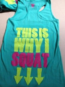 This Is Why I Squat - Tank