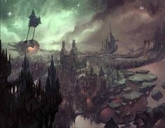 Pin by Kiera on D&D Inspiration Astral plane Dungeons and dragons Fantasy landscape