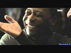 Pele y Zidane hicieron anuncios tambien