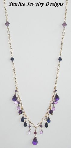 Starlite Jewelry Designs - Briolette Necklace - Jewelry Design