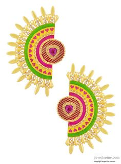 Rhea ear cuff in Manish Arora for Amrapali #jewellery #fashion