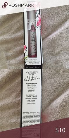 "NWT Victoria's Secret ""xo, Victoria"" rollerball NWT Victoria's Secret ""xo, Victoria"" eau de parfum rollerball. Never opened, brand new. PINK Victoria's Secret Makeup"
