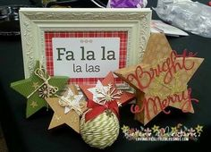 Stampin' Up Many Merry Star Simply Created Kit! - Loving Life's Little Blessings Stampin Up Christmas, Christmas Crafts, Christmas Ideas, Christmas Stars, Christmas Tree Table Decorations, Box Decorations, Stampin Up Many Merry Stars, Stamping Up Cards, Paper Pumpkin
