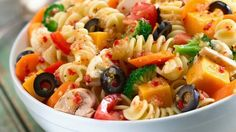Skinny Points – Recipes  » Italian Pasta Salad