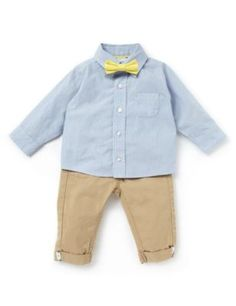 Lovely marks and spencer wee boys outfit