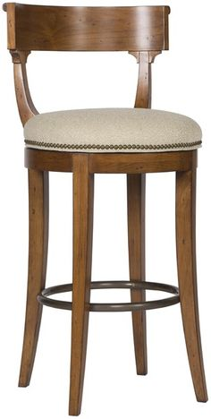 Vanguard Furniture - Our Products - V325-BS Miles Bar Stool