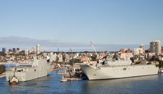 NUSHIP Adelaide completes first sea trials.
