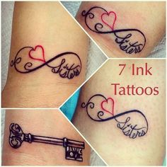Matching Sister Tattoos For 3 <b>matching sister tattoos</b> for <b>3 matching sister tattoos</b>.  me ...
