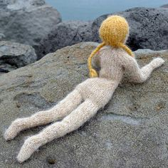 Theodora doll KNITTING KIT by helenemagnusson
