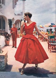 Vanity Fair, October 1955 - Fashion Flashback - Photos