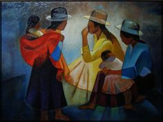 yves molac - reproductions - L Toffoli reproduction Contemporary History, Contemporary Artists, Art Péruvien, Art Latino, South American Art, Peruvian Art, Art Textile, Inspiration Art, Mexican Art