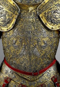wasbella102:    Armor of Henry II of France   Date: about 1555