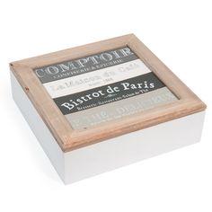 Boîte à thé Comptoir de Paris