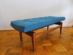 Vintage Jens Risom U620 Bench by FindFurnish on Etsy, $1280.00