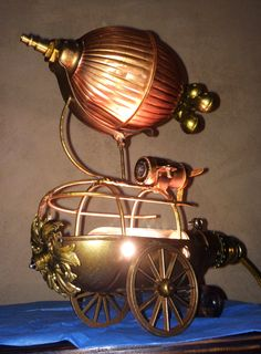 DIY steampunk airship - Google Search