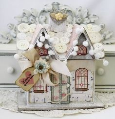 Lilybean Paperie  Melissa Phillips.  Did I mention that Melissa creates the most amazing little houses?